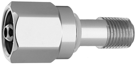 "DISS  NUT AND NIPPLE Air to 1/4"" M Medical Gas Fitting, DISS, 1160-A, Medical Air, Breathing Air"