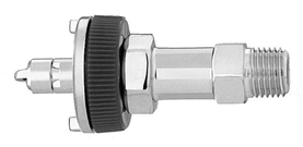 "M Air Ohmeda Quick Connect  to 1/4"" M Medical Gas Fitting, Medical Gas Adapter, ohmeda quick connect, ohio quick connect, Medical Air, Breathing Air, quick connect, quick-connect, diamond quick connect, ohmeda male to 1/4 male"