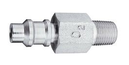 "M Air Puritan Quick Connect  to 1/8"" M Medical Gas Fitting, Medical Gas Adapter, puritan quick connect, puritan Bennett quick connect, Medical Air, Medical Air quick connect, Medical Air quick-connect, puritan male to 1/8 male"