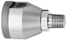 "F O2 Puritan Quick Connect  to 1/4"" M Medical Gas Fitting, Medical Gas Adapter, puritan quick connect, puritan Bennett quick connect, O2, Oxygen, Oxygen quick connect, Oxygen quick-connect, puritan female to 1/4 male"