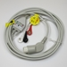 ECG Cable Philips One-Piece 3-Lead Snap - ML-EA023S3A