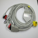 EKG Cable 10-Lead Pinch - GE MAC 1200