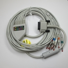 EKG Cable 10-Lead with 4mm Banana - Philips Pagewriter