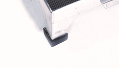 L-Shaped Rubber Foot for Stacking Step Stool