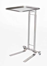 MCM Stainless Steel Mayo Stand with Foot Control