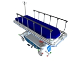 Mac Medical Fifth Wheel Transport Stretcher