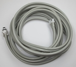 NIBP Double Tube Hose - GE Datex to Dinamap Male Submin