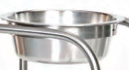 Stainless Steel 7 qt. Bowl only for Ring Stands