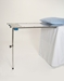Under Pad Mount Arm / Hand Surgery Table - Single Leg - MCM340