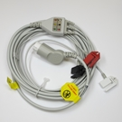 ECG Cable Philips One-Piece 3-Lead Pinch