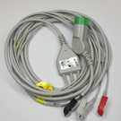 ECG Cable Medtronic Physio Control One-Piece 3-Lead Snap
