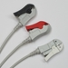 ECG Cable AAMI One-Piece 3-Lead Pinch - ML-EA002C3A